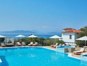Διακοπές στο Leda Village Resort στο χωριό Χόρτο Πηλίου, αμφιθεατρικά χτισμένο σε μια πανέμορφη καταπράσινη τοποθεσία δίπλα στην παραλία!