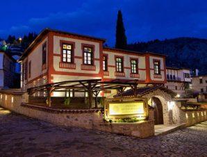 Διαμονή στο Orologopoulos Mansion στην Καστοριά, είναι ένα παλιό αρχοντικό που χτίστηκε το 19ο αιώνα!